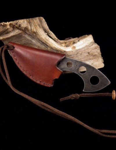 Etui en cuir pour couteau