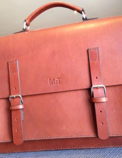 Sac en cuir personnalisé MbyT